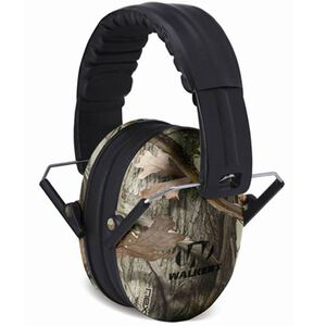 Walker's Game Ear Baby and Kid's Folding Passive Ear Protection Camo