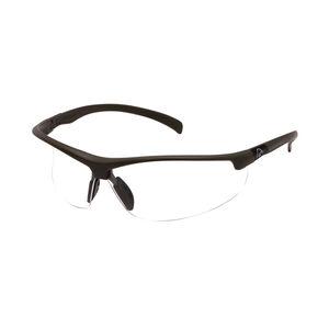 Pyramex Shooting Glasses Clear Lens Black Frame DUSB6610D