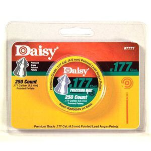 Daisy Precision Max Pointed Field Pellet Lead 4.5 Millimeter 7777