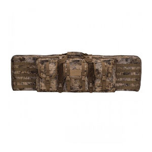 "Voodoo Tactical Enhanced Padded Rifle Weapon Case Single/Double Gun 42"" MOLLE Soft Case Voodoo Tactical Camo Finish"