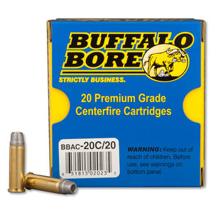 Buffalo Bore .38 SPL 158 Grain LSWC-HC 20 Round Box