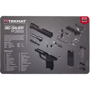 """TekMat Sig Sauer P365 Mat, Neoprene, 11""""x17"""""""