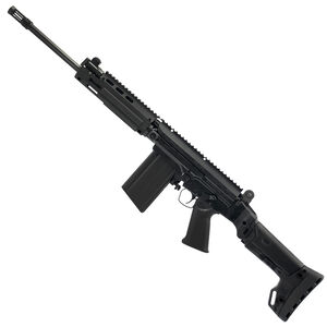 "DS Arms SA58 Improved Battle Carbine 7.62x51 Semi Auto Rifle 16"" Barrel 20 Rounds BRS Folding Stock Matte Black Finish"