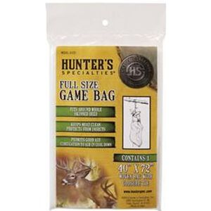 "Hunters Specialties Full Size Game Bag Woven Fabric Field Dressing Bag 40""x72"" 01237"