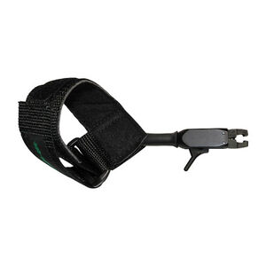 Tru-Fire Patriot Junior Release Dual Jaw Velcro Strap Ambidextrous Black PTJR