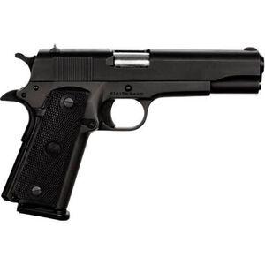 "Rock Island Armory GI Standard FS 1911 Semi Auto Handgun .45 ACP 5"" Barrel 10 Rounds Synthetic Grip Parkerized Black Finish 51453"