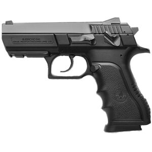 "IWI Jericho 941 PSL Mid-Size Semi Auto Handgun 9mm Luger 3.8"" Barrel 16 Rounds Adjustable Sights Polymer Frame Black J941PSL9"