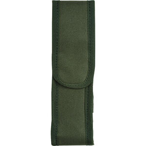 Voodoo Tactical MOLLE Flashlight Pouch with Adjustable Cover/Elastic Sides Size Medium Nylon Olive Drab 013504000