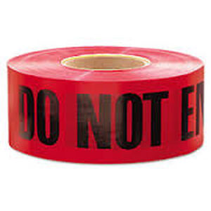 "Pro-Line Barricade Tape 1000' ""Do Not Enter"" Tape 3"" Width BT07"
