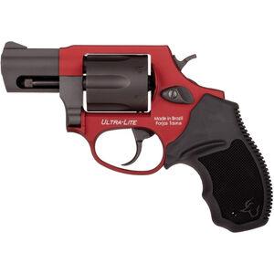 "Taurus UL 856 .38 Special +P DA/SA Revolver 2"" Barrel 6 Rounds Rubber Grips Burnt Orange/Black Finish"