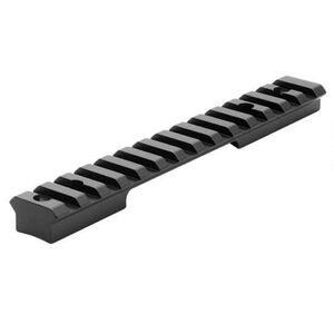 Leupold BackCountry 1-Piece Cross-Slot Scope Base Sauer 202 Short Action Platforms 20 MOA Bias Built In 7075-T6 Aluminum Hard Coat Anodized Matte Black