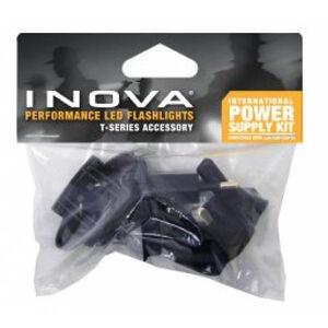 INOVA T4 LED Flashlight International Plug Kit