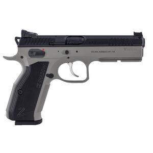 "CZ Shadow 2 Urban Grey Semi Auto Pistol 9mm Luger 4.89"" Barrel 17 Rounds Fiber Optic Front Sight/HAJO Rear Sight Aluminum Grips Black Slide/Urban Grey Frame Finish"