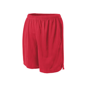 Champion Tactical TAC162 Men's Mesh Short w/ Pockets Small Scarlet
