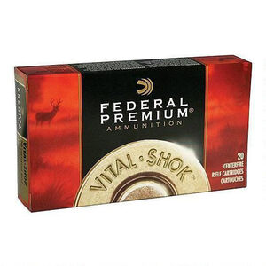 Federal .338 Federal Ammunition 20 Rounds Trophy Copper 200 Grains