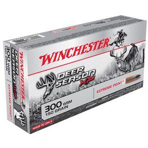 Winchester Deer Season XP .300 WSM Ammunition 20 Rounds PT 150 Grains X300SDS