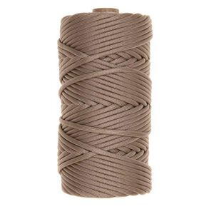 Tac Shield 550 Paracord 7 Strand Nylon Braided 200' Sand 03023