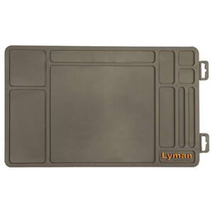 Lyman Essential Pistol Maintenance Rolled Mat Synthetic Rubber 04047