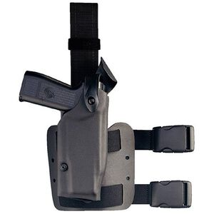 """Safariland 6004 1911 5"""" with Rails and Surefire X300 SLS Tactical Holster Right Hand STX Black 6004-5340-121"""