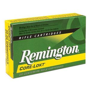 Remington Express .300 Savage Ammunition 20 Rounds 150 Grain Core-Lokt PSP Soft Point Projectile 2630fps