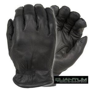 Damascus Protective Gear Q5 Quantum Series Gloves Leather Black