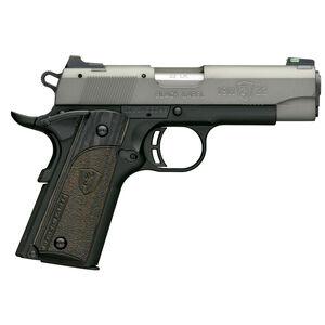 "Browning 1911-22 Black Label Gray Compact Semi Auto Pistol 22 LR 3.625"" Barrel 10 Rounds Black/Gray"