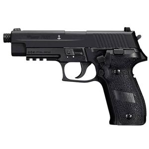 SIG Sauer P226 CO2 Semi Auto Air Pistol .177 Caliber 16 Rounds Metal Frame and Slide Black AIR-226F-177-12G-16-BLK