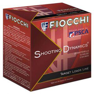 """Fiocchi Shooting Dynamics Heavy Dynamic 12 Gauge Ammunition 2-3/4"""" #8 1-1/8oz Lead Shot 1200fps"""