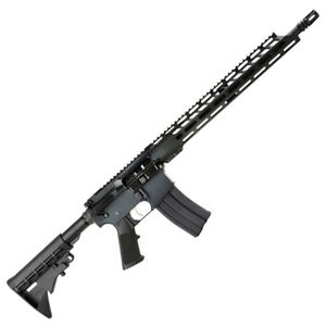 "Anderson Manufacturing AM15 AR-15 .223 Wylde Semi Auto Rifle 16"" Barrel 30 Rounds Free Float M-LOK Hand Guard Carbine Collapsible Stock Matte Black"