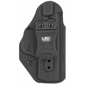 LAG Tactical Liberator MK II Series OWB/IWB Holster for S&W M&P M2.0 9/40 Models Ambidextrous Draw Kydex Construction Matte Black Finish