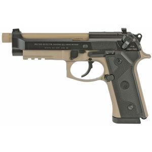 "Beretta M9A3 Type G 9mm Semi Auto Pistol 5"" Threaded Barrel 17 Rounds Night Sights FDE Frame Black Slide"