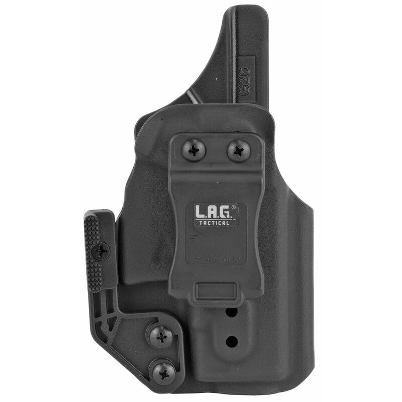 LAG Tactical Appendix MK II Series IWB Holster for GLOCK G26/G27/G33 Models Right Hand Draw Kydex Construction Matte Black Finish