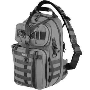 "Maxpedition Kodiak Gearslinger MOLLE Compatible 13.5""L x 7.5""W x 20""H Volume 1380 Cu. In. Wolf Gray"