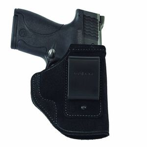 Galco Stow-N-Go Ruger LC9 with Lasermax CenterFire Inside Waistband Holster Right Hand Leather Black STO656B