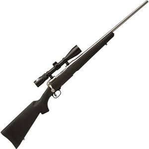 "Savage 116 Trophy Hunter XP Bolt Action Rifle 7mm Rem Mag 24"" Barrel 3 Rounds Synthetic Stock Stainless Finish 3-9x40 Scope 19734"
