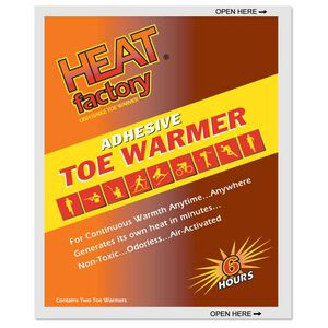 Heat Factory Adhesive Toe Warmer 6 Hours 40 Pair 1945BX