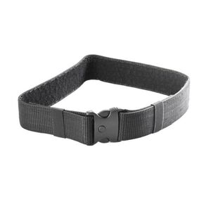 "JE Machine Accessories Belt with 3 Button Snap Buckle 34"" x 2"" Black"