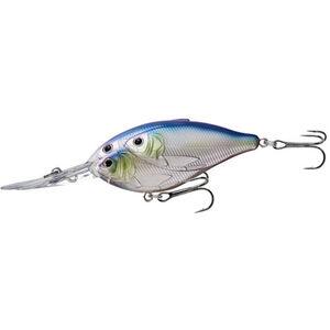 "Threadfin Shad Crankbait 3"", Number 2 Hook Size, 16' Depth, Metallic Pearl/Lavender"
