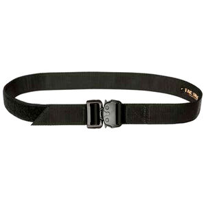 Tac Shield Tactical Gun Belt Medium Mil-Spec Webbing QR Buckle Black T30MDBK