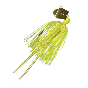 Z-man ChatterBait Original Lures 1/4 oz Weight 5/0 Hook Chartreuse