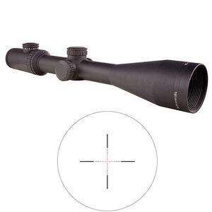 Trijicon AccuPower Rifle Scope 4-16x50 Illuminated Red Mil-Square Reticle Battery Matte Finish 1900022