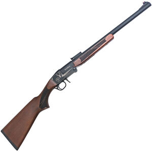 "TR Silver Eagle Stalker Youth Single Shot Break Action Shotgun .410 Bore 20"" Barrel 1 Round Slug Gun Rifle Sights Wood Stock Black Finish"