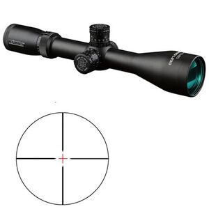 Konus KonusPro LZ-30 2.5-10x50mm Riflescope Dual Illuminated Reticle 30mm Tube .25 MOA Matte Black