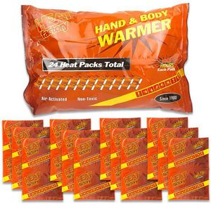 Heat Factory Mini Size Hand Warmers, Pack of 24