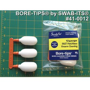 Swap Its 12 Gauge Bore Swab 3 Tips 5/16-27 Foam