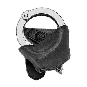 Galco Handcuff Case for System or Belt Leather Black SC73B