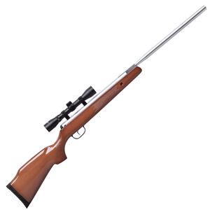 Crosman Remington Model 777SB Nitro Mag Powered .177 Caliber Break Barrel Air Rifle Centerpoint 4x32 Scope Two Stage Adjustable Trigger High Gloss Checkered Wood Stock