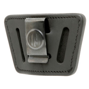 1791 Gunleather Universal IWB/OWB Holster for Sub-Compact/Large Frame Semi Auto Pistols Ambidextrous Draw Leather Black