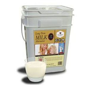 Wise Company Long Term Freeze Dried Whey Instant Milk 120 Servings 10 Mylar Pouches