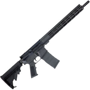 """Great Lakes .223 Wylde AR-15 Semi Auto Rifle 16"""" Stainless Steel Barrel 30 Rounds 15"""" Free Float M-LOK Handguard Collapsible Stock Black Finish"""